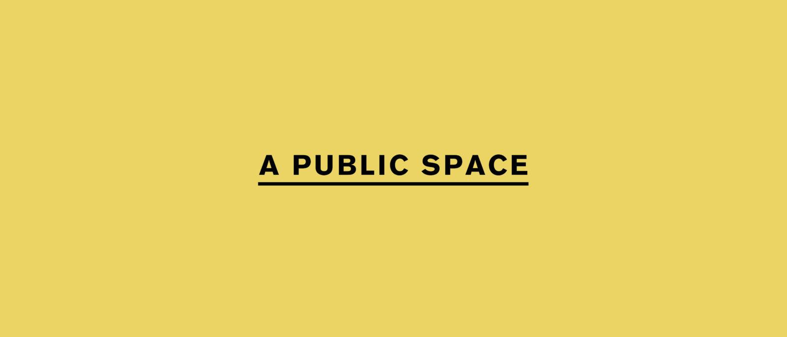 A Public Space, The Center for Fiction
