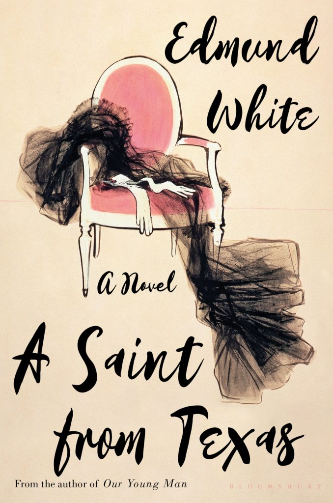 A Saint from Texas by Edmund White Book Cover