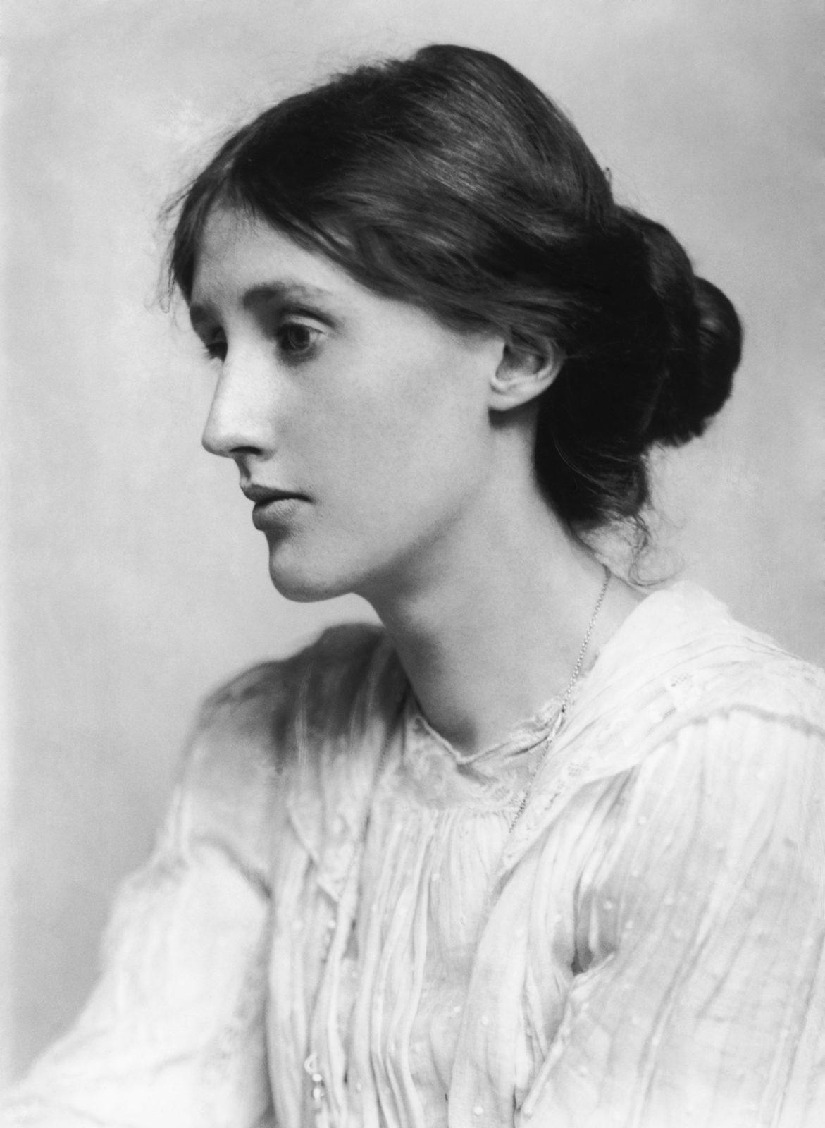 Author Photo - Virginia Woolf © George Charles Beresford