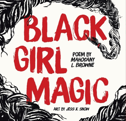 Book Cover - Black Girl Magic