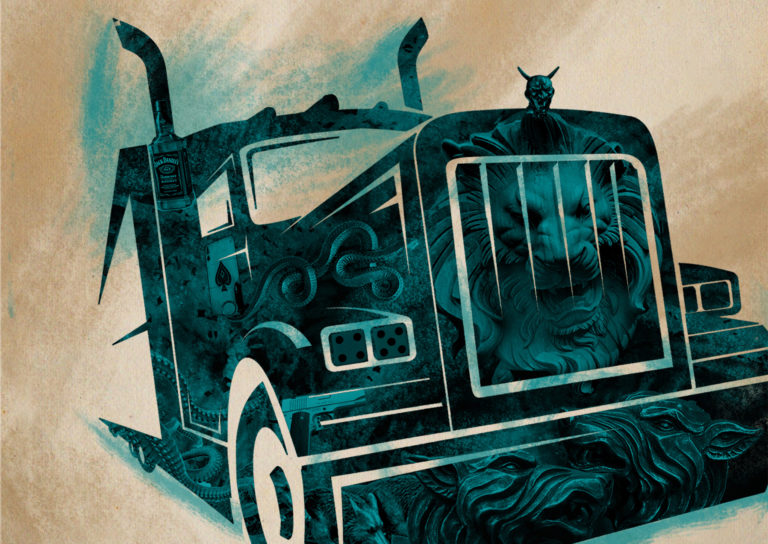 Book Cover - Full Throttle by Joe HIll - Carla Cain-Walther