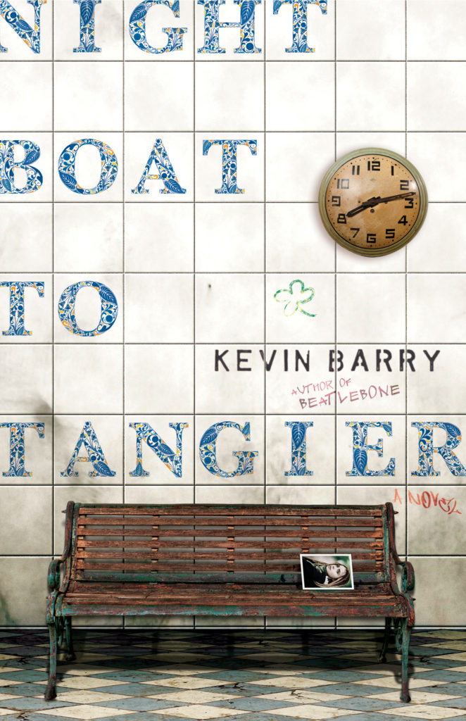 Book Cover - Kevin Barry Night Boat