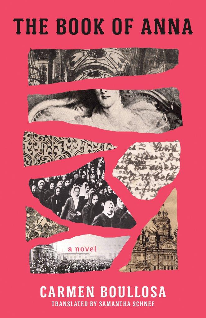 Carmen Boullosa Book of Anna - Carla Cain-Walther