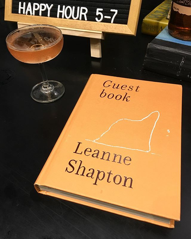 Cocktail with Shapton Book