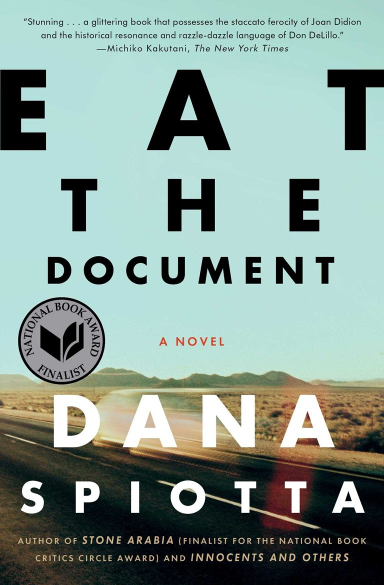 Eat the Document Book Cover - Carla Cain-Walther