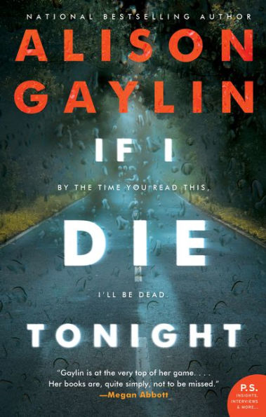 If I Die Tonight Alison Gaylin