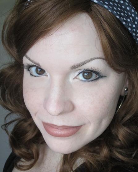 Jacki Blue White headband Haunted Waters Press