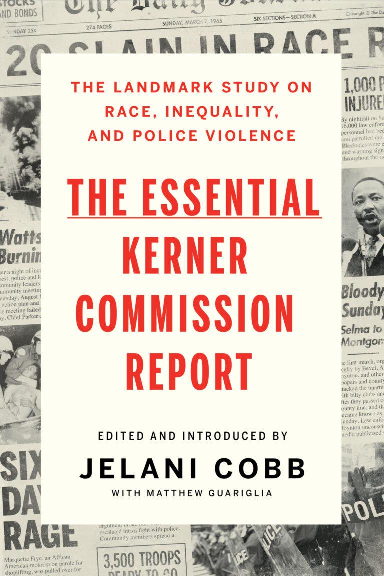 Kerner Commission report book jacket - William Lyman