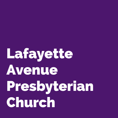 Lafayette Avenue Presbyterian Church - Zach Cihlar