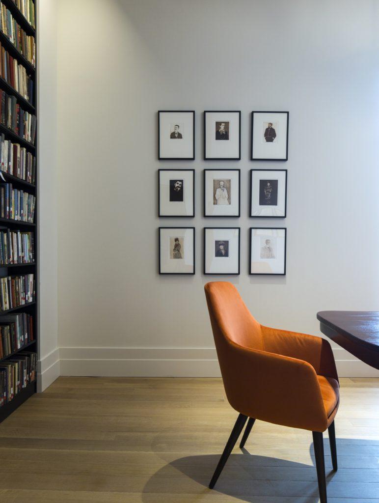 Orange Meeting Room photo exhibit
