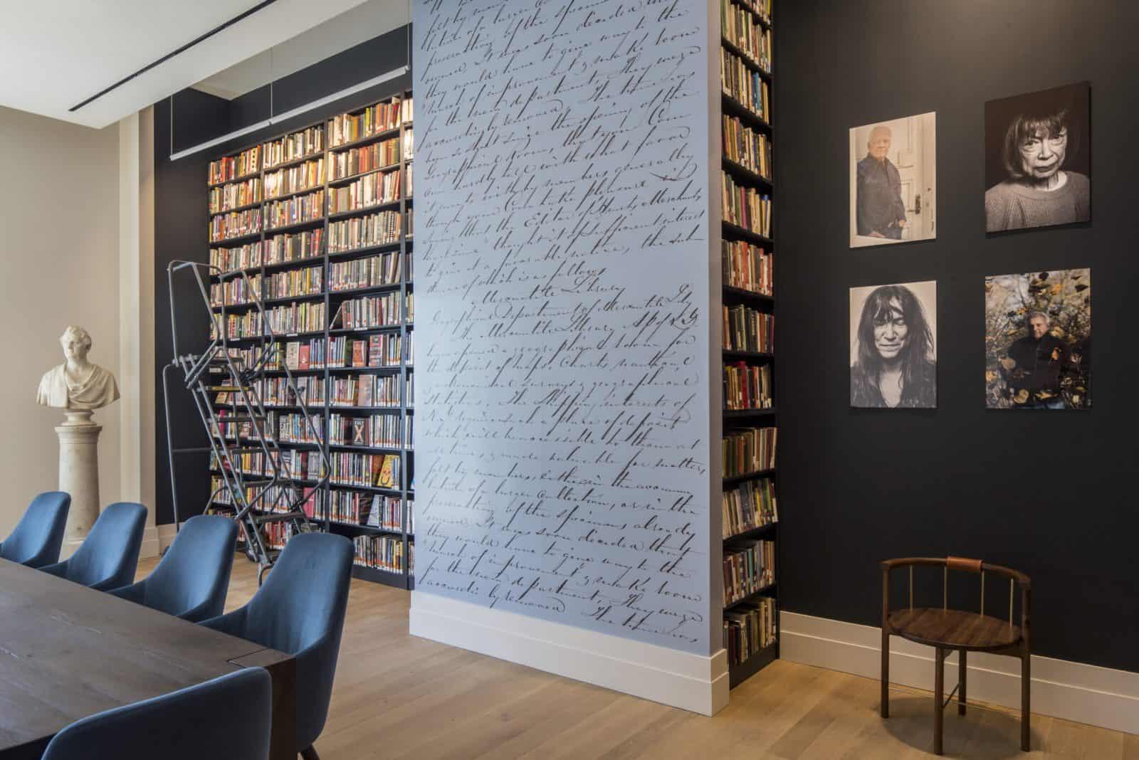 Reading Room left entry side