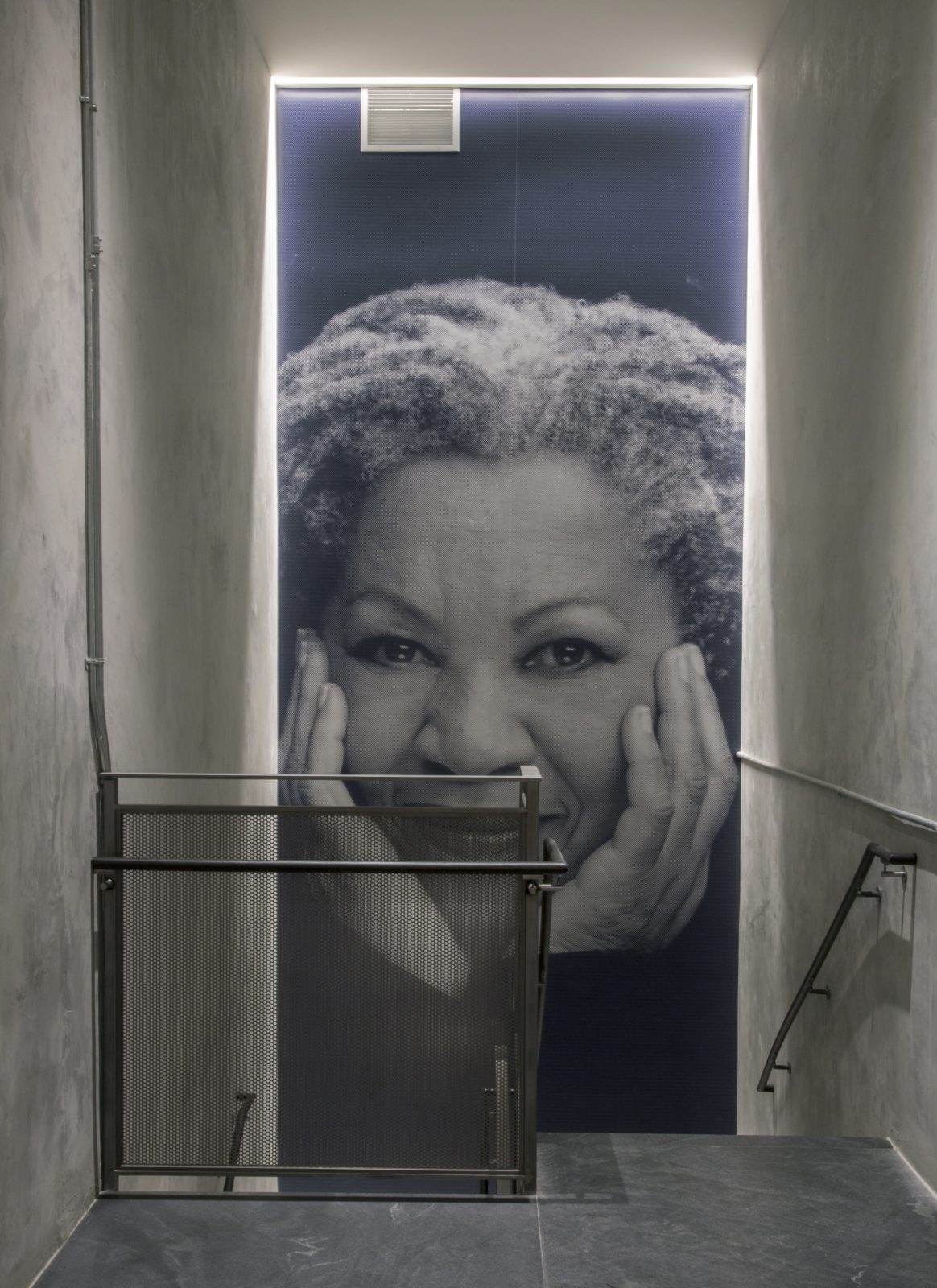 Stairwell Toni Morrison