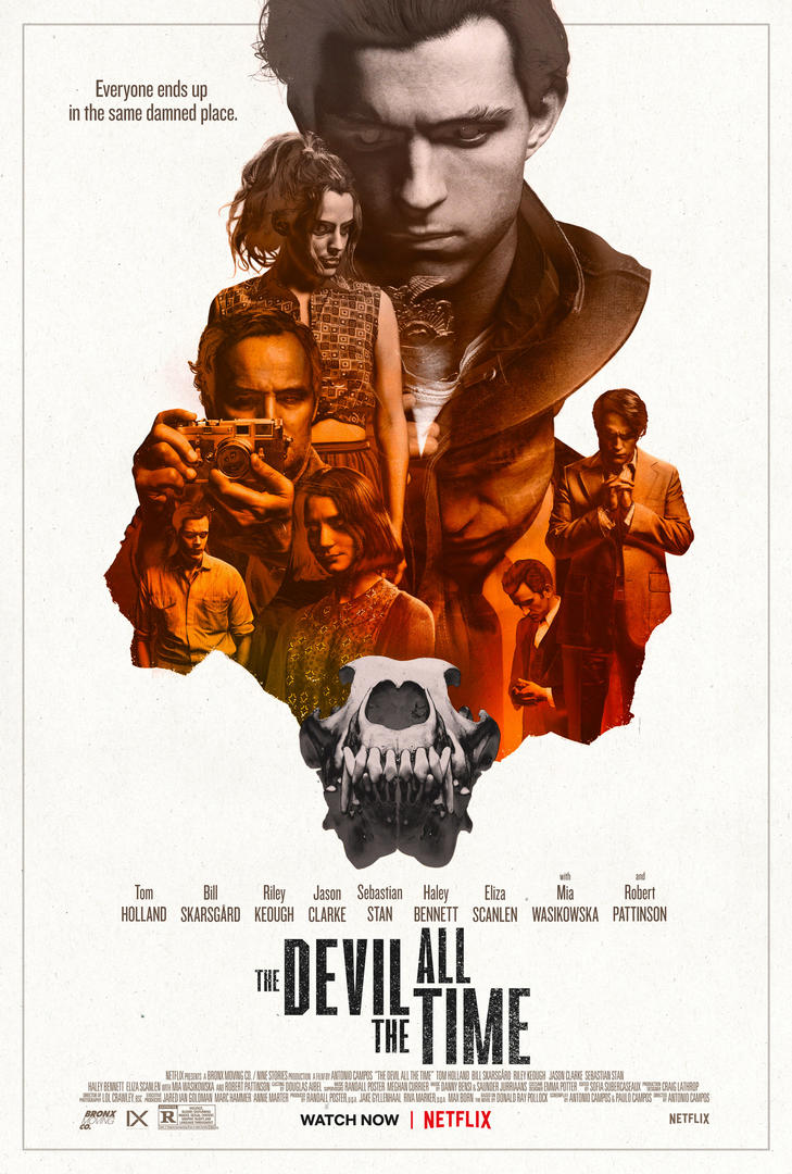 The Devil All the Time - Movie Cover, Netflix