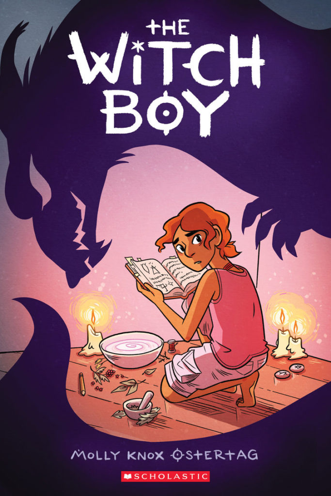 The Witch Boy by Molly Ostertag, Book Cover - Carla Cain-Walther