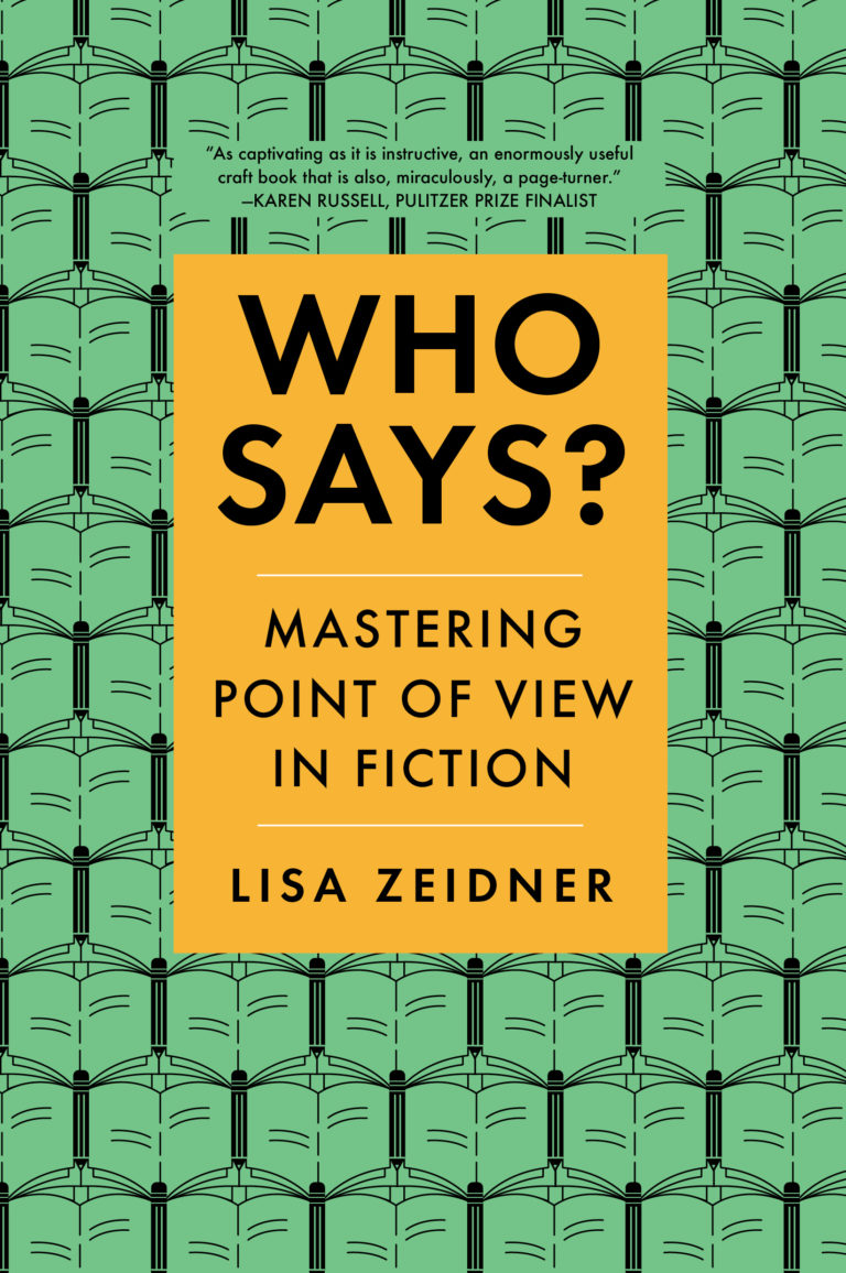 Who Says by Lisa Zeidner